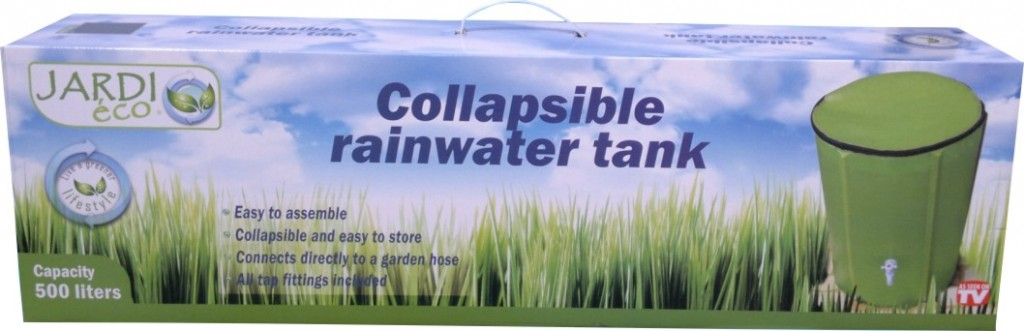 Collapsible-rainwater-tank